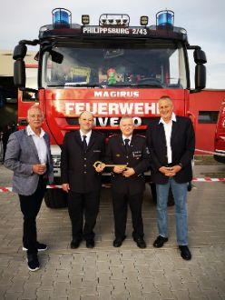 Freie Wähler bei der Feuerwehr Huttenheim